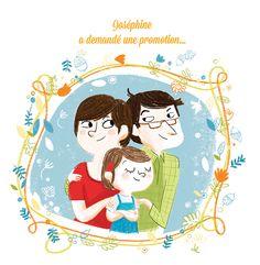 """Birth announcement """"Ernest et Joséphine""""copyright Jess Pauwels"""