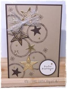 Weihnachtskarten Star Cards, Gift Wrapping, Blog, Xmas Cards, Gift Wrapping Paper, Wrapping Gifts, Blogging, Gift Packaging