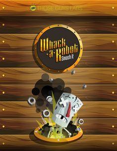 Arte Videojuego mobile: Whack a Robot: Smash it - imagen 1/5 - Plataforma: Android - ios