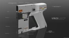 ArtStation - MediCorp Field Injector Medical Unit, Aaron Kaminer
