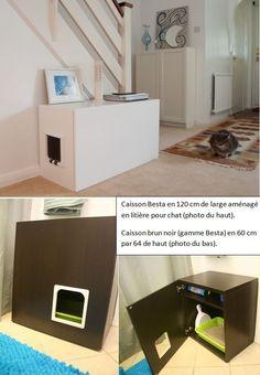 Litiere chat meuble ikea - Meuble litiere chat ikea ...