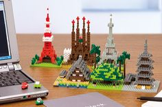 nanoblocks.. japanese mini lego for grownups
