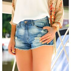 hoge taille ripped jeans short http://www.loavies.com/hoge-taille-ripped-jeans-short.html