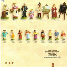 Le village des santons Escoffier - le peintre et la maîtresse, Santons (French) Le Village, Nativity, Nativity Scenes, Bricolage, Recipes, The Nativity, Birth
