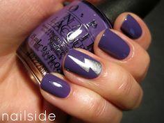 Lightening bolt and purple.