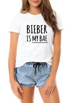 Bieber Is My Bae Shirt Tee T-shirt Justin Bieber by VeniceKanals