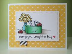 Lawn Fawn On The Mend Clear Stamps