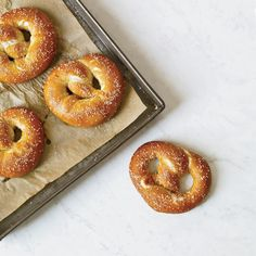 German-Style Pretzels | These chewy pretzels from chef Hans Röckenwagner develop a shiny, professional-looking crust as they bake.