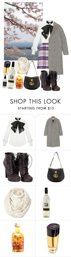 A fashion look from December 2017 featuring bow blouses, T By Alexander Wang and lace-up booties. Browse and shop related looks. Little Barn, Fat Face, Lace Up Boots, Alexander Wang, Gucci, Apothecary, Fashion Looks, Shoe Bag, Polyvore