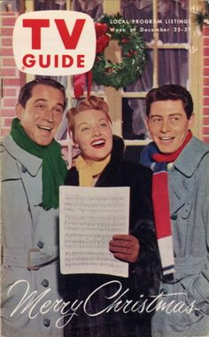 Perry Como, Patti Page, Eddie Fisher  Merry Christmas  December 25-31 1953