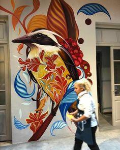 Murals Street Art, Street Art Graffiti, Street Art News, Graffiti Murals, Best Street Art, Street Artists, Graffiti Cartoons, Graffiti Artists, Graffiti Lettering