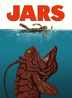 We're gonna need a bigger boat 'cos there's always a bigger fish! JARS by ~WiL-Woods on deviantART