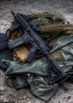 Robinson Armanent's Straightpull SBR AR15