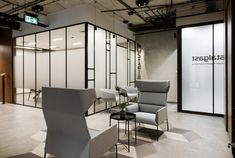 MADAMA created the office design for catering equipment manufacturer, Stalgast, located in Warsaw, Poland. The architects of the MADAMA studio have Office Floor Plan, Startup Office, Unique Buildings, Workplace Design, Sustainable Design, Living Spaces, Inspiration, Interior, Offices