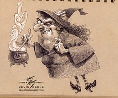 Be Awesome: October Sketchbook