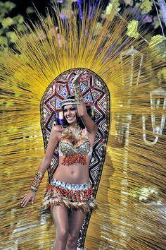Bolivia. Santa Cruz de la Sierra.Boulevard carnaval 2013