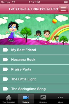 LITTLE PRAISE PARTY APP! You can download it for you iphone here for free!!