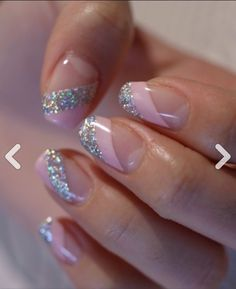 ☆ doppelt rosa von Pastellrosa × Aurora minimal lahm ☆ – rosa Nägel – … – Nägel, You can collect images you discovered organize them, add your own ideas to your collections and share with other people. Silver Nails, Pink Nails, Glitter Nails, Gel Nails, Sparkle Nails, Silver Glitter, Nail Polish, Glitter Rosa, Glitter French Manicure