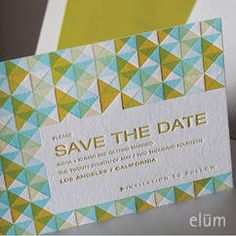 Synthesis Save the Date