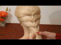 Back To School Hairstyles. SUPER Easy and Quick Braid Hairstyle. Penteados - YouTube