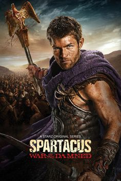 Spartacus: War of the damned, blood will be spilled! Cant wait :D