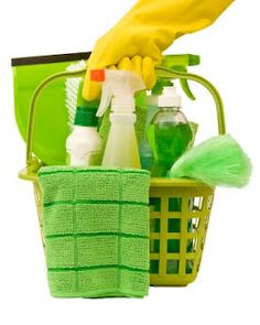 Spring Cleaning: Day 1: Clean all walls, windows & mirrors, glass surfaces. Wipe down electronics. Day 2: Wash all curtains & bedding. Flip mattresses. Empty all trash cans and sanitize them. Day 3: Clean the kitchen: counter top, cabinets, fridge, oven, microwave, sink, appliances. Day 4: Polish all furniture. Clean toilets, sinks, medicine cabinets and shower. Day 5: Vacuum out couches & chairs. Vacuum and mop all floors. Wash couch cushions & rugs Day 6: Shampoo all carpets Day 7: Rest!!