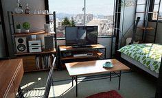 狭い部屋のインテリア画像集をまとめてみました。狭いとどうしても家具ばかりになって雑然とした部屋になりがちですが、工夫すればオシャレに過ごすことができますよ。画像を参考にしてかわいい部屋を作ろう!