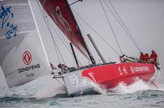 January 21, 2015. Dongfeng Race Team
