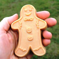 Gingerbread Man Handcrafted Goat Milk Soap by lucyssoap on Etsy