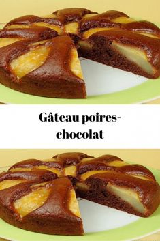 Homemade Cake Recipes, Baking Recipes, Dessert Recipes, Pear And Chocolate Cake, Desserts With Biscuits, Cake Recipes From Scratch, Salty Cake, Savoury Cake, Other Recipes
