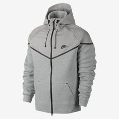 ba7be3b396d6 NEW NIKE TECH FLEECE REFLECTIVE XL WINDRUNNER MENS JACKET Hoodie 629002-063  grey  fashion