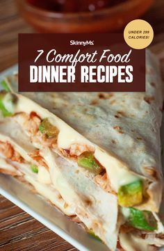These comfort food dinners under 299 calories will make your mouth water, satisfy your cravings, and keep your diet on the healthy side! Clean Eating Slow Cooker Recipe, Clean Eating Meal Plan, Clean Eating Dinner, Clean Eating Recipes, Cooking Recipes, Low Calorie Meal Plans, 300 Calorie Meals, Low Calorie Recipes, Healthy Dinner Options