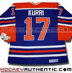 Jari Kurri Edmonton Oilers CCM vintage jersey | Hockey Authentic