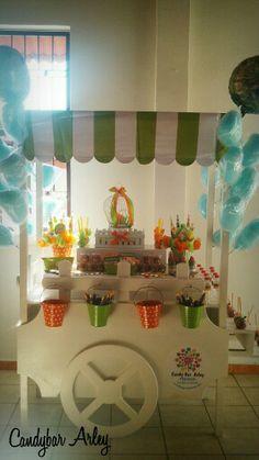 Carreta de dulces