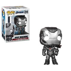 Vinyl FigureThe entire Marvel movie universe unites, once and for all in Marvel's Avengers: Endgame. Assemble your team to battle Thanos and restore the universe! This Avengers: Endgame War Machine Pop. Funko Pop Marvel, Marvel Avengers, Captain Marvel, Captain America, Pop Vinyl Figures, Funko Pop Figures, Univers Marvel, Figurine Avengers, Gameroom Ideas