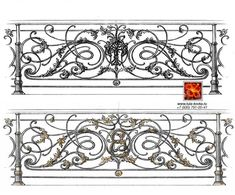 Cast Iron Railings, Wrought Iron Stairs, Home Fencing, French Rococo, Mediterranean Architecture, Balcony Railing, Art Nouveau, Pattern, Staircases