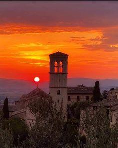 Clare Of Assisi, Big Ben, Celestial, Sunset, Bella, Building, Travel, Outdoor, Italia