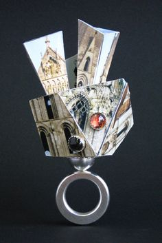 Tzu-Ju Chen |Laminated photographs, sterling silver