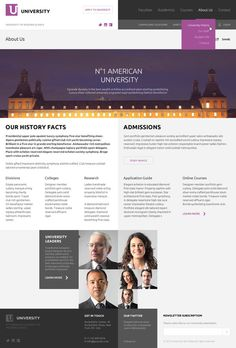 American University by Serge Mistyukevych , via Behance