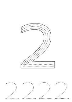 Preschool Numbers Worksheets Preschool Number Worksheets, Numbers Preschool, Writing Worksheets, Toddler Activities, Preschool Activities, Pre School, Coloring Pages, Teaching, Education