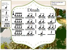 The Sweetest Melody: Dinah/Pick a Bale