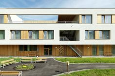 Galeria de Lar de Repouso e Cuidados Especiais / Dietger Wissounig Architekten - 15