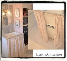 LaurieAnna's Vintage Home: Our little Starlet. Vintage Caravans, Vintage Travel Trailers, Vintage Campers, Airstream Trailers, Popup Camper, Gypsy Wagon, Camper Makeover, Remodeled Campers, Small Rooms