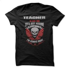 Awesome Teacher Shirt - #long sweatshirt #sweater for teens. PURCHASE NOW => https://www.sunfrog.com/Funny/Awesome-Teacher-Shirt-5tew.html?68278