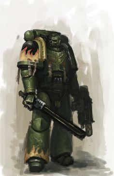 Salamanders Sergeant by MasterAlighieri on DeviantArt