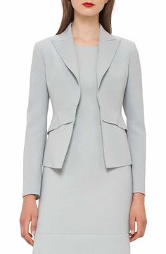 Akris Double Face Wool Blend Jacket