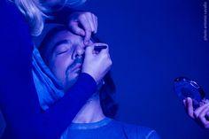 Trucco e parrucco per Gaetano #makingof #effimerafollia