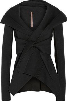 Rick Owens | Lilies neoprene hooded jacket | NET-A-PORTER.COM