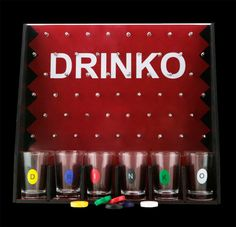 Drinko Shot Game - Get it in the maked glass to win a free drink