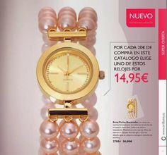 Reloj con Perlas de Oriflame C-2 2015